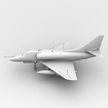 """美国""""天鹰""""攻击机-飞机-军事飞机-CG模型-3D城"""