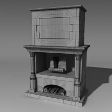 壁炉-家居-其它-CG模型-3D城