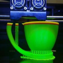 三色腾空杯-家居生活-3D打印模型-3D城