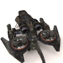 飞船 -飞机-私人飞机-CG模型-3D城