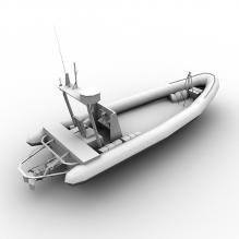 游艇-船舶-其它-CG模型-3D城