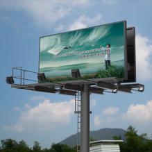 高速公路广告牌-室外建筑-基础设施-CG模型-3D城