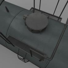 火车油罐货运车箱-汽车-火车-CG模型-3D城