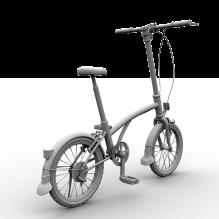 迷你自行车-汽车-自行车-CG模型-3D城