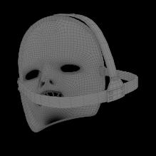 面具-生活办公用品-其它-CG模型-3D城
