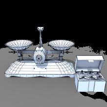 天平-科技医疗-实验室设备-CG模型-3D城