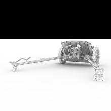 38mm反坦克炮-军事_武器-其它-CG模型-3D城