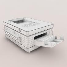 打印机-生活办公用品-办公用品-CG模型-3D城