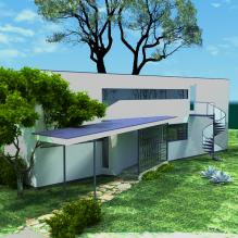 豪华别墅-室外建筑-住宅-CG模型-3D城