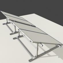 光伏-室外建筑-基础设施-CG模型-3D城