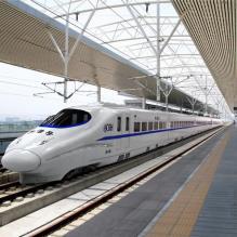 中国铁路和谐号动车组-汽车-火车-CG模型-3D城