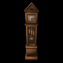 钟-家居-其它-CG模型-3D城