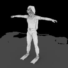 运动小孩-人物_角色-小孩-CG模型-3D城