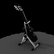 Gibson LesPaul 吉他-体育_爱好-CG模型-3D城