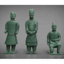 兵马俑合集-袖珍_收藏-3D打印模型-3D城