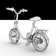 小自行车-汽车-自行车-CG模型-3D城