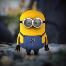 小黄人-人物_角色-角色-CG模型-3D城