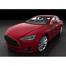特斯拉 model s    Tesla model s  电动车