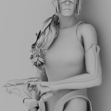 AMP-人物_角色-CG模型-3D城