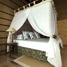 欧式卧室一角-室内建筑-卧室-CG模型-3D城