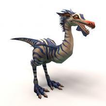 秀龙-动物-科幻-CG模型-3D城