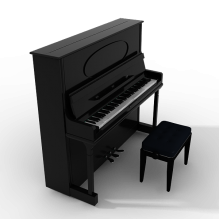 钢琴-体育_爱好-CG模型-3D城