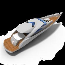 珀欣游艇-船舶-其它-CG模型-3D城