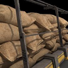 沙袋堆-军事_武器-其它-CG模型-3D城
