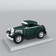老式车-艺术-艺术品-CG模型-3D城