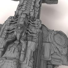 星际2亥伯龙号-飞机-私人飞机-CG模型-3D城