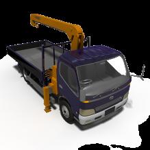 Truck-汽车-卡车-CG模型-3D城
