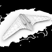 纳粹德国未来战机-飞机-军事飞机-CG模型-3D城