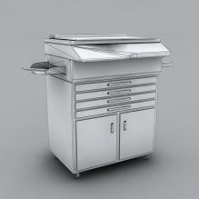 复印机-生活办公用品-办公用品-CG模型-3D城