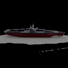 16135 潜艇-船舶-其它-CG模型-3D城