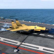 中国空军歼15战机 3D模型-飞机-军事飞机-CG模型-3D城