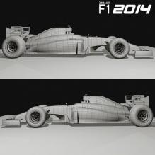 F1迈凯轮MP4-29-汽车-CG模型-3D城
