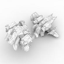 维京战机-飞机-私人飞机-CG模型-3D城