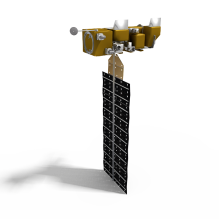 Aqua卫星-科技医疗-航天卫星-CG模型-3D城