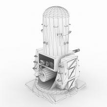 [枪械gun] 孤岛危机系列@CIWS-人物_角色-角色-CG模型-3D城