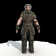 战火来袭子弹风暴角色1-人物_角色-角色-CG模型-3D城