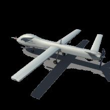 翼龙无人机-科技医疗-航天卫星-CG模型-3D城