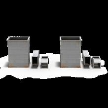 通风管-工业设备-零部件-CG模型-3D城