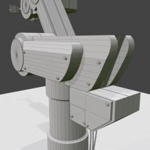 单轴机器-工业设备-机器设备-CG模型-3D城