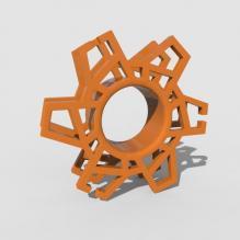手机绕线器-小工具-3D打印模型-3D城