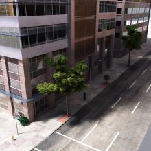 豪华大厦 商业中心-室外建筑-商业_办公-CG模型-3D城