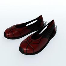 女式皮鞋-生活办公用品-服装饰品-CG模型-3D城