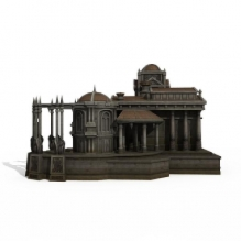 白狮子-室外建筑-住宅-CG模型-3D城
