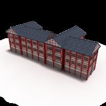 中国古建-室外建筑-古建筑-CG模型-3D城