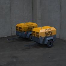 压缩机-工业设备-CG模型-3D城