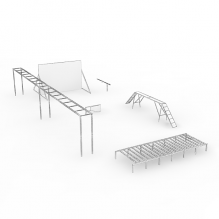 训练场-军事&武器-其它-CG模型-3D城